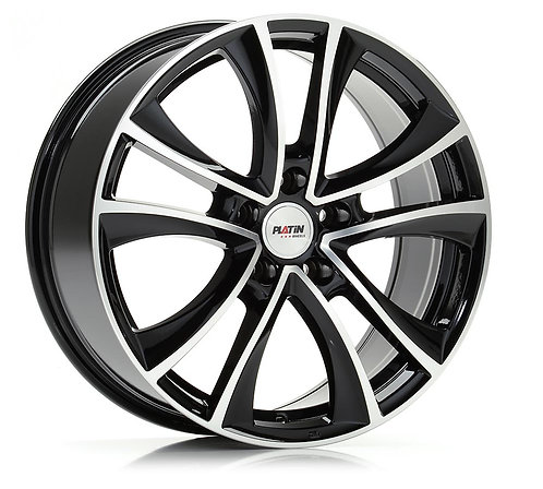 Alle VW T5-T6-T6.1 Platin P71 schwarz poliert 18 Zoll
