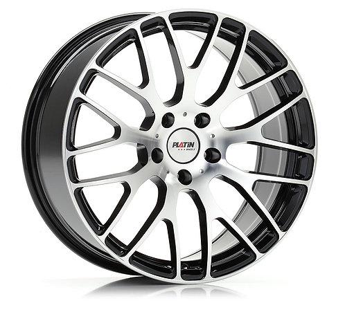VW T5-T6-T6.1 Platin P70 schwarz poliert 18 Zoll