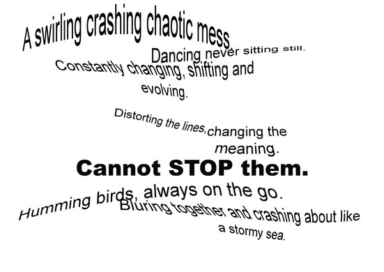Chaotic mess 1