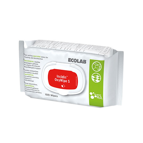 Incidin OxyWipe S / 100 Wipes