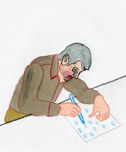 Luca Dipierro disegna