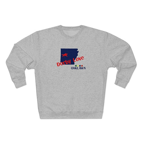 DerbyLove Oaklawn Unisex Premium Custom Crewneck Sweatshirt