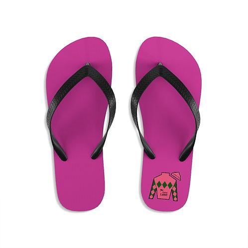 DerbyLove Jockey Club Unisex Flip-Flops Summer Footwear