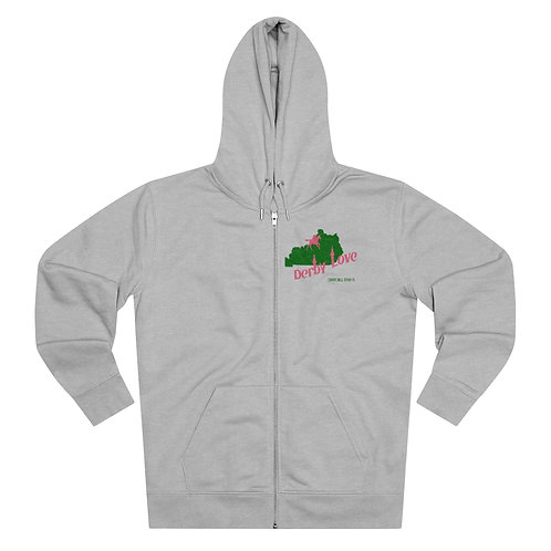 DerbyLove Churchill Downs Men's Cultivator Zip Hoodie Tracksuit Pullover