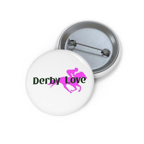 DerbyLove Custom Metal Pin Buttons