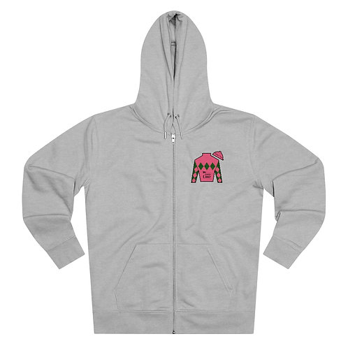DerbyLove Jockey Club Men's Cultivator Zip Hoodie Tracksuit Pullover