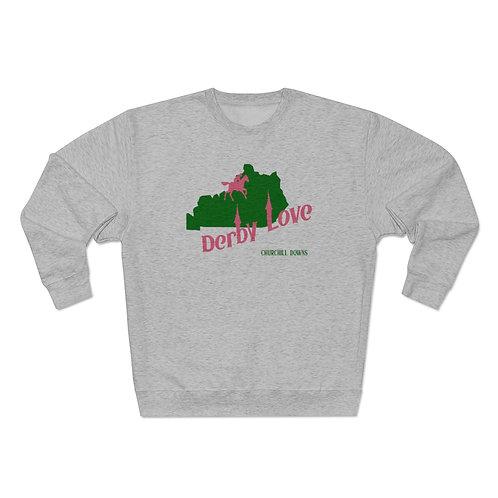 DerbyLove Churchill Downs Unisex Premium Custom Crewneck Sweatshirt