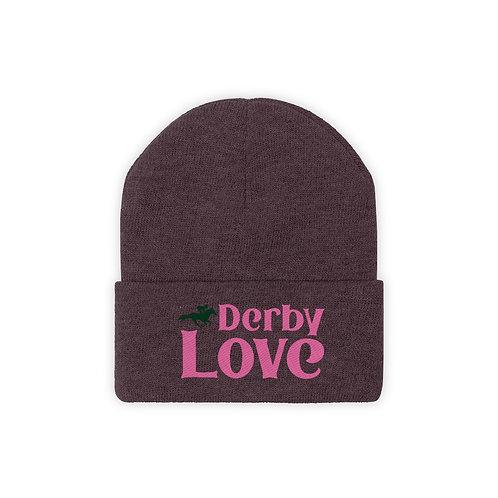DerbyLove Winter Knit Beanie Warm Hat Knitted Skull Cap