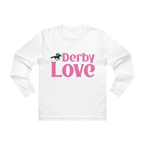 DerbyLove Men's Base Long sleeve Tee Streetwear