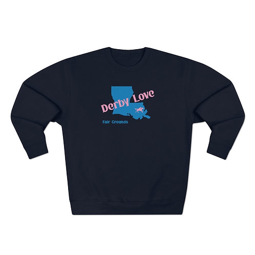 DerbyLove Fair Grounds Unisex Premium Custom Crewneck Sweatshirt