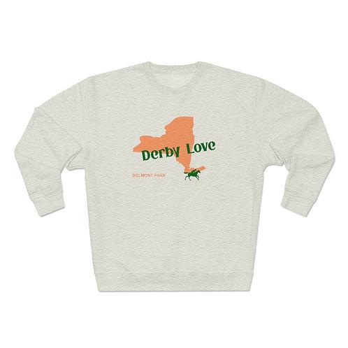 DerbyLove Belmont Park Unisex Premium Custom Crewneck Sweatshirt