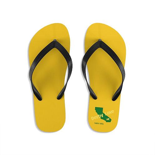 DerbyLove Santa Anita Unisex Flip-Flops Summer Footwear