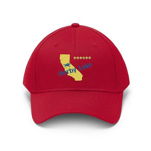 DerbyLove Delmar Unisex Twill Hat Outdoor Baseball Cap