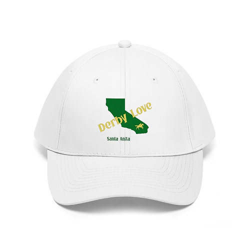 DerbyLove Santa Anita Unisex Twill Hat Outdoor Baseball Cap