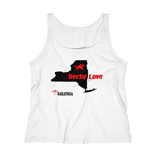 DerbyLove Saratoga Women's Fitness Workout Tank Top Jersey