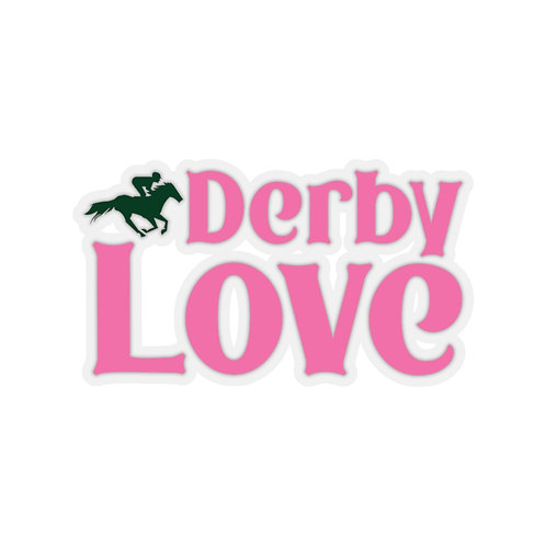 DerbyLove Kiss-Cut Adhesive Indoor Stickers