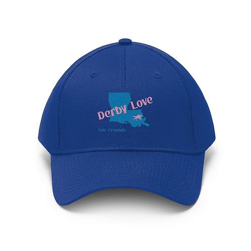 DerbyLove Fair Grounds Unisex Twill Hat Outdoor Baseball Cap