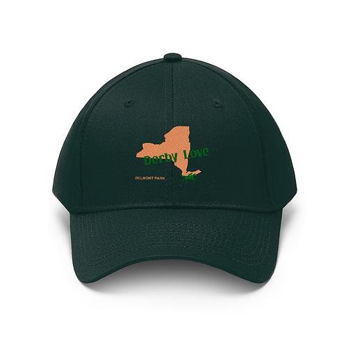 DerbyLove Belmont Park Unisex Twill Hat Outdoor Baseball Cap
