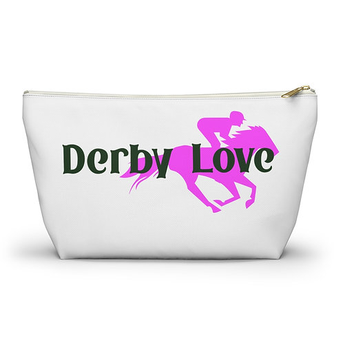 DerbyLove Ladies Accessory Pouch w T-bottom Fashionable Bag