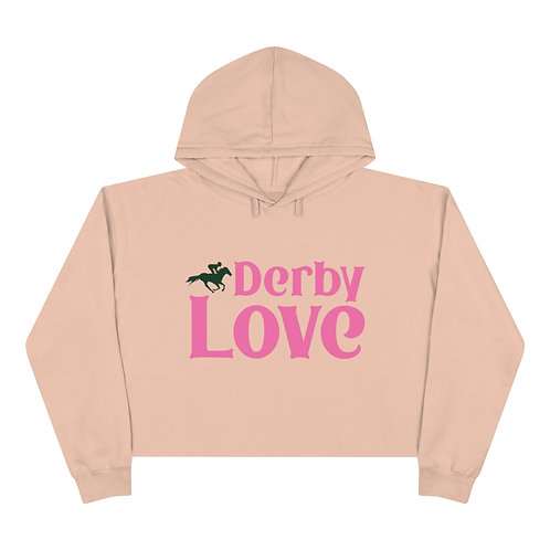 DerbyLove Ladies Crop Hoodie Long Sleeve  Streetwear