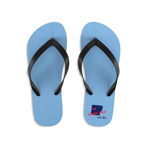 DerbyLove Oaklawn Unisex Flip-Flops Summer Footwear