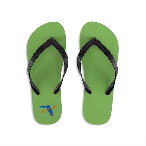 DerbyLove Gulfstream Park Unisex Flip-Flops Summer Footwear