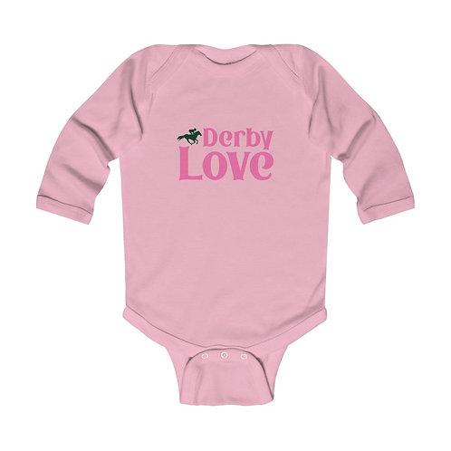 DerbyLove Infant Long Sleeve Bodysuit Baby Wear