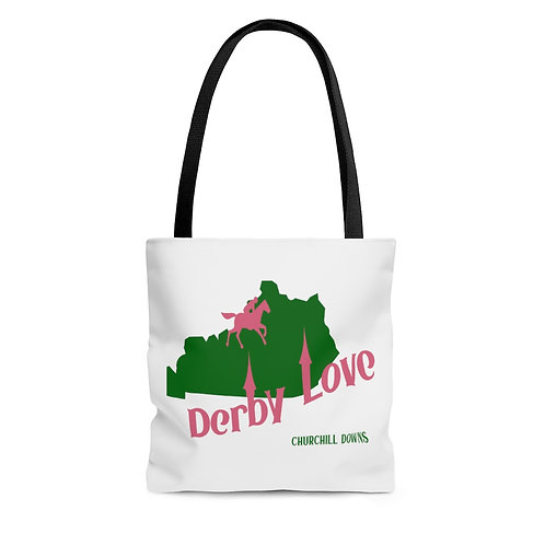 DerbyLove Churchill Downs Tote Shoulder Hand Bag Shoppers Bag