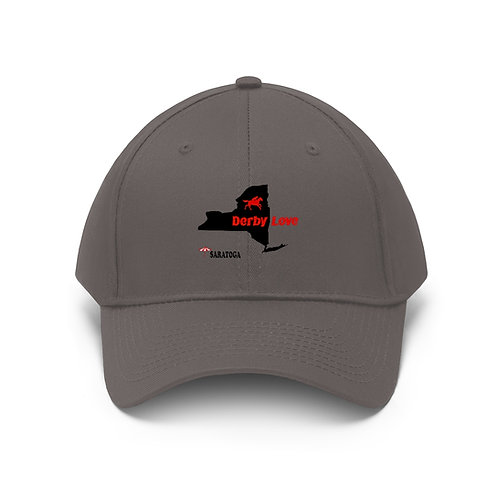 DerbyLove Saratoga Unisex Twill Hat Outdoor Baseball Cap