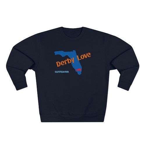 DerbyLove Gulfstream Park Unisex Premium Custom Crewneck Sweatshirt