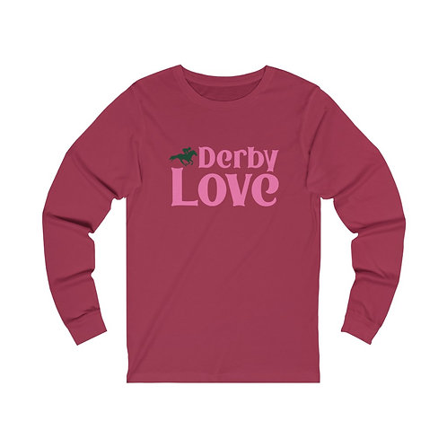 DerbyLove Unisex Jersey O-Neck Long Sleeve Tee