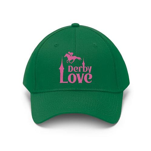 DerbyLove Unisex Twill Hat Outdoor Baseball Cap