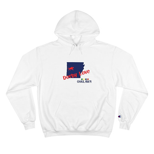 DerbyLove Oaklawn Hooded Long Sleeve Champion Hoodie Tracksuit