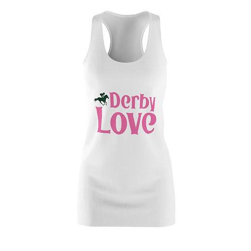 DerbyLove Women's Cut & Sew Racerback Dress Fashion Gown
