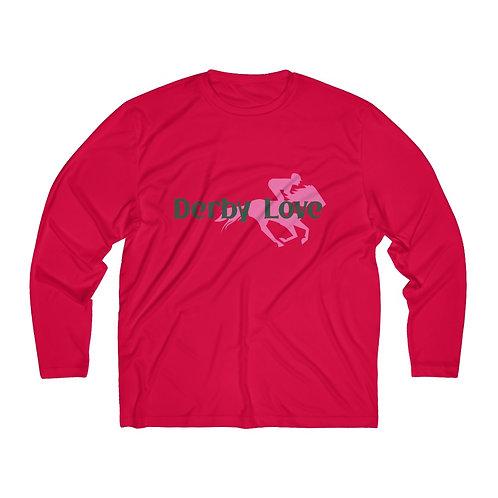 DerbyLove Men's Long Sleeve Moisture Absorbing Tee Customized Jersey