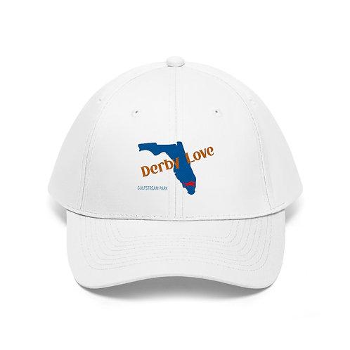 DerbyLove Gulfstream Park Unisex Twill Hat Outdoor Baseball Cap