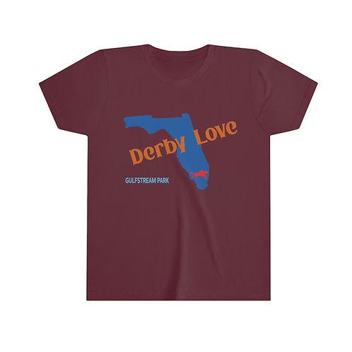 DerbyLove Gulfstream Park Youth Short Sleeve Unisex Custom Tee