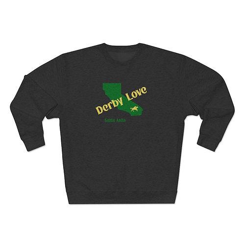 DerbyLove Santa Anita Unisex Premium Custom Crewneck Sweatshirt
