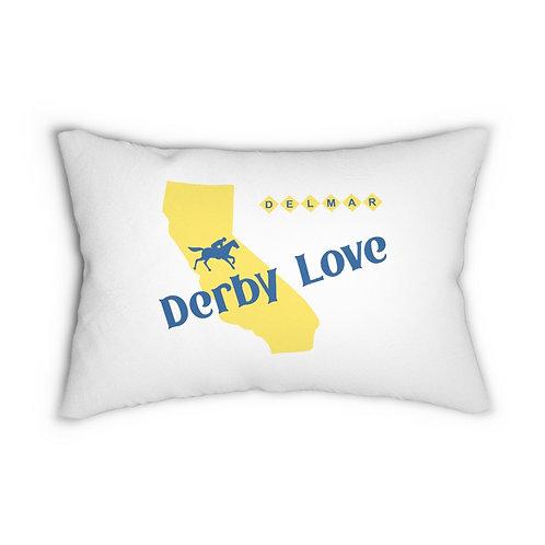 DerbyLove Delmar Lumbar Zipper Pillow Indoor Water Resistant Cushion