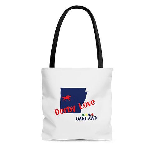 DerbyLove Oaklawn Tote Shoulder Hand Bag Shoppers Bag