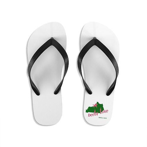 DerbyLove Churchill Downs Unisex Flip-Flops Summer Footwear