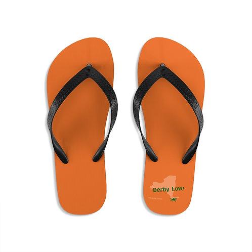 DerbyLove Belmont Park Unisex Flip-Flops Summer Footwear