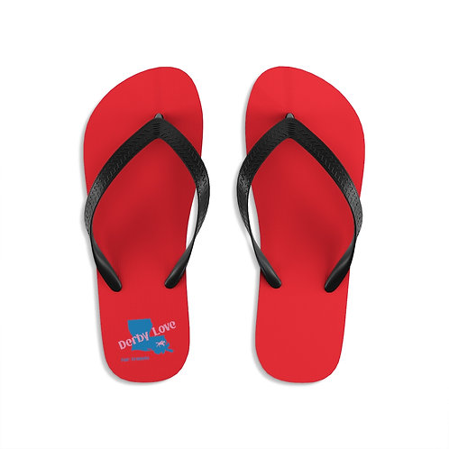 DerbyLove Fair Grounds Unisex Flip-Flops Summer Footwear