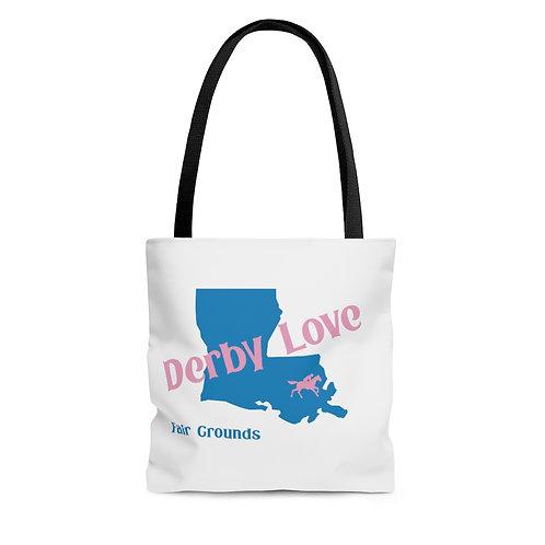 DerbyLove Fair Grounds Tote Shoulder Hand Bag Shoppers Bag