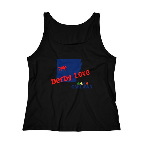 DerbyLove Oaklawn Women's Fitness Workout Tank Top Jersey