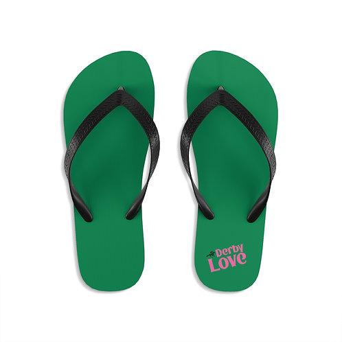 DerbyLove Unisex Flip-Flops Indoor Outdoor Slippers