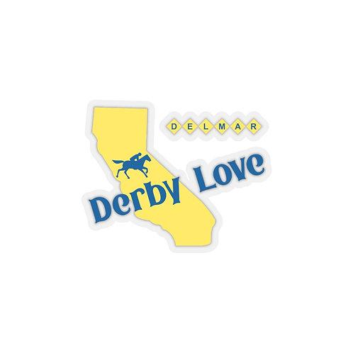 DerbyLove Delmar Kiss-Cut Surface Stickers