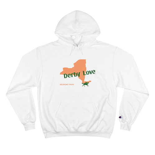 DerbyLove Belmont Park Hooded Long Sleeve Champion Hoodie Tracksuit