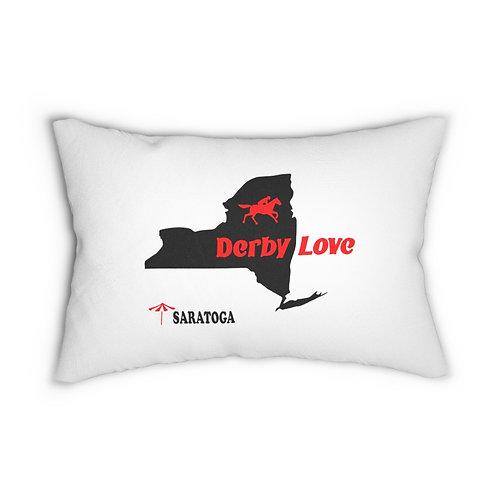 DerbyLove Saratoga Zipper Pillow Indoor Water Resistant Cushion