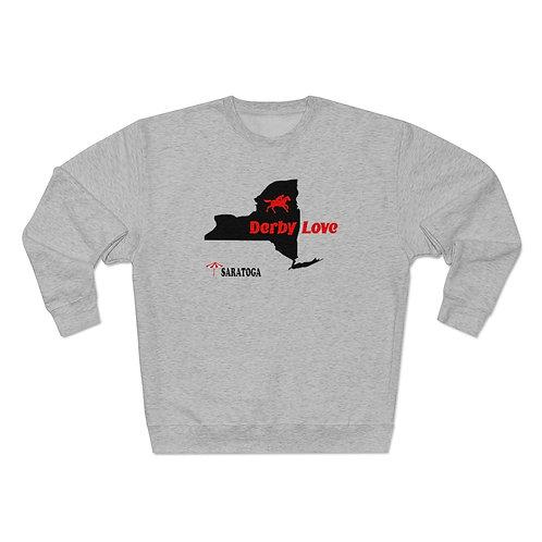 DerbyLove Saratoga Unisex Premium Custom Crewneck Sweatshirt